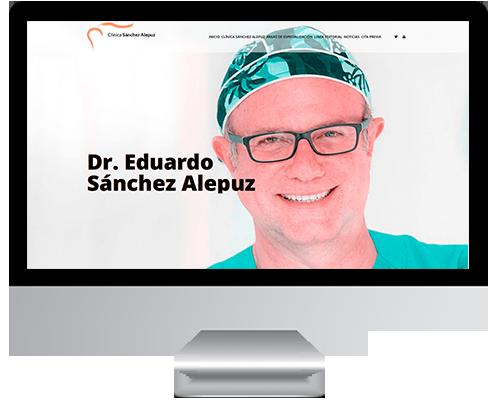 Desarrollo Web Wordpress para Eduardo Sánchez Alepuz