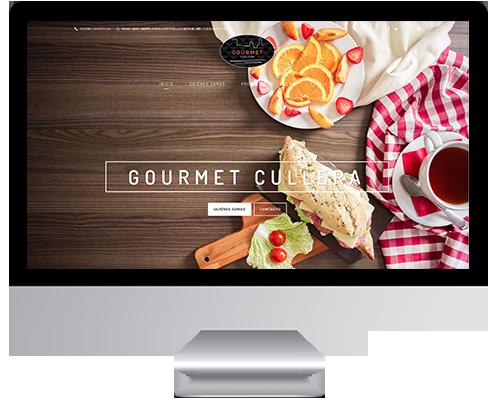 Desarrollo Web - Página Corporativa y Catálogo Online desarrollada en Wordpress para Gourmet Cullera