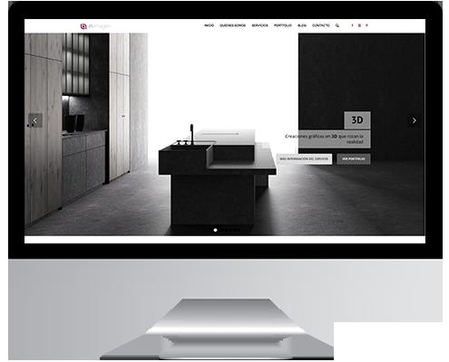 Desarrollo Web - Página Corporativa y Portfolio desarrollada en Wordpress para Inimagen