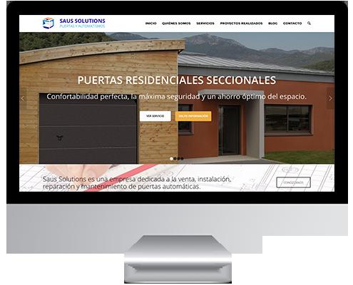 Desarrollo Web - Página Corporativa desarrollada en Wordpress para Vicente Saus