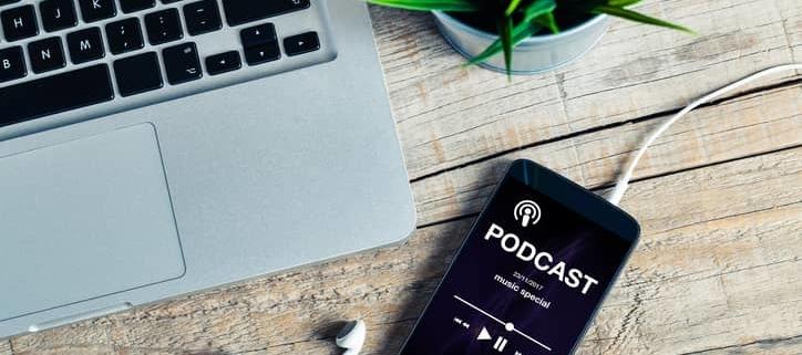 incluir podcast